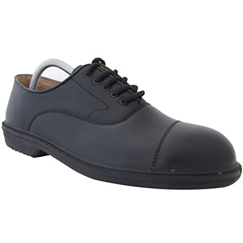 Totectors Mens Oxford Steel Toe Cap Leather Safety Shoes -