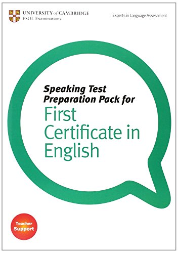 Speaking Test Preparation Pack for FCE Paperback with DVD