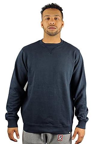 Dickies 02 200037 Washington Mens Dark Navy Blue Crew Neck Sweatshirt