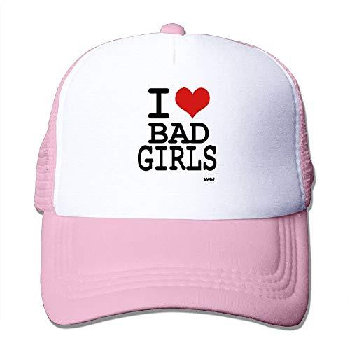 Love Bad Girls by WAM Big Foam Caps Mesh Back Cap (Hat Bad Big Wolf)