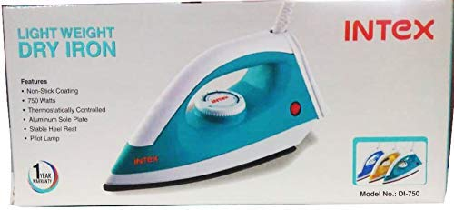 Intex Light Weight Iron (Sky Blue)