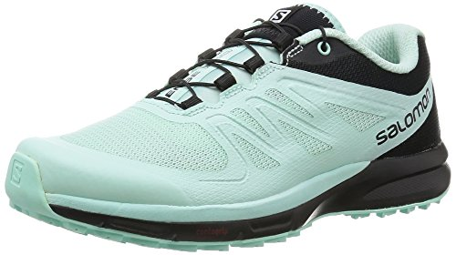 Salomon L37905100, Zapatillas de Trail Running para Mujer, Azul (Igloo Blue / Igloo Blue / Black), 40 EU