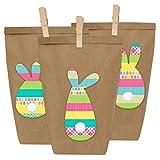 Papierdrachen Sacchetti per Regali Fai da Te per Pasqua da riempire a Piacere - per confezionare Regali per Bambini e Adulti.