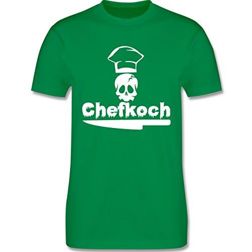Küche - Chefkoch - Herren Premium T-Shirt Grün