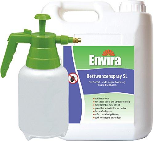 ENVIRA Anti-Bettwanzenspray 5Ltr + 2Ltr Drucksprüher