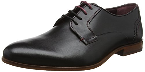 Ted Baker Iront, Scarpe Stringate Derby Uomo Nero (Black)