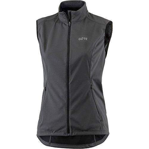 Gore Winddichte Damen Laufweste, Gore R5 Women Gore Windstopper Vest, Größe: 38, Farbe: Orange, 100157