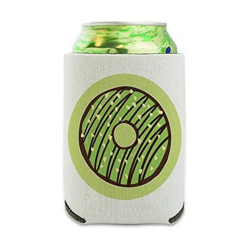 Mint Chocolate Chip Donut Yummy Green Can Cooler – Boisson Sleeve Hugger pliable isolant – Boisson isotherme support