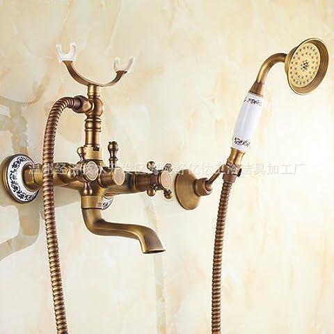 CAC Retrò il bagno completo di doccia, kit bagno montato