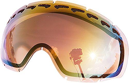 Lentes de repuesto para Oakley Crowbar–Gafas para la nieve, Pink Mirror