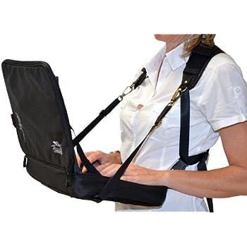 ensemble de travail tout terrain ordinateur portable harnais housse stand 39 up 12339. Black Bedroom Furniture Sets. Home Design Ideas