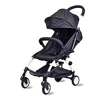 Ultra Light Folding Baby Carriage Portable Baby Stroller Umbrella Cart Travel Pram Pushchair For Newborn Toddler Buggy Black