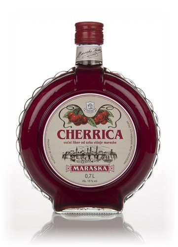 Maraska Cherrica Kirschlikör 0.7l runde Flasche (Flasche Runde Mittlere)