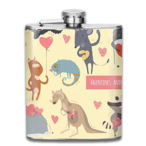 fancy flask Watercolor Dragonflies Flask Slim,Light And Curved to Fit Pockets PERFECT GIFT For Those Who Deserve The Best