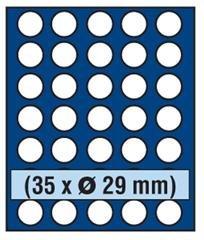 Preisvergleich Produktbild SAFE 6329Nova Coin Compact für 30Münzen in rund Räume bis 29,5mm = 2,9cm
