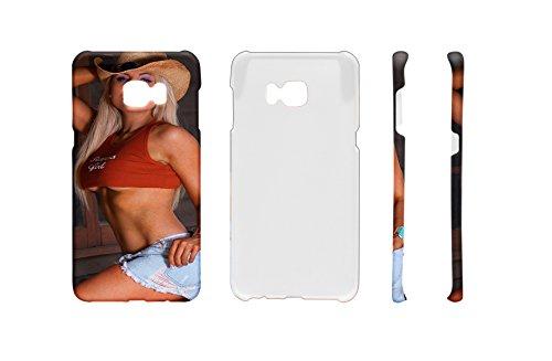 (LEotiE SINCE 2004 Handy Schale Passend für Samsung S6 Edge Plus Sexy Girl Sexy Girl Pin up Blond)