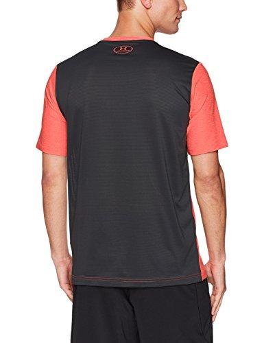 Under Armour Herren Raid Graphic Short Sleeve Shirt Marathon Red