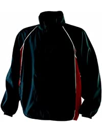 Finden & Hales Piped Showerproof Training Jacket
