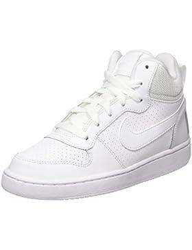 Nike Court Borough Mid (GS), Zapatillas de Baloncesto Unisex Bebé