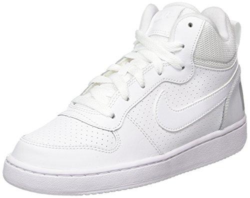 NIKE Court Borough Mid (GS), Chaussures de Sport-Basketball garçon