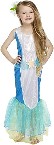 Mermaid of the Sea Girl Kostüm Alter 10-11 (Kostüm Sea Meerjungfrau)