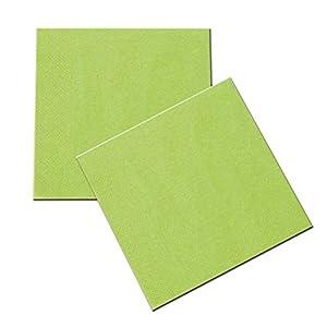 Verbetena - 20 servilletas, color verde, 33x33 cm (012050004)