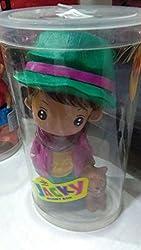Aaryan Enterprise Super Cute Cartoon Character Jackey SMALL Coin Box/Piggy Bank/Money Saving Bank for Kids