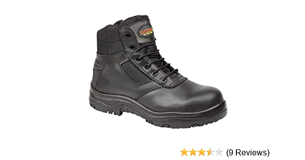 Personal Protective Equipment (ppe) Clothing, Shoes & Accessories Lovely Samson Xl 7109 S3 Src Hro Black Composite Toe Cap Metal Free Zip Up Safety Boots