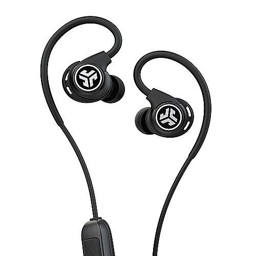 JLab Fit Sport Wireless In-Ear-Bluetooth-headset with Memory Wire black Best Price and Cheapest