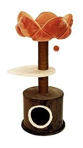 kerbl 82539 kratzbaum gerbera 50 x 39 x 100 cm haustier. Black Bedroom Furniture Sets. Home Design Ideas
