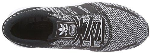 Adidas Los Angeles - Sneaker Donna Nero (Noir (Core Black/Core Black/Ftwr White))