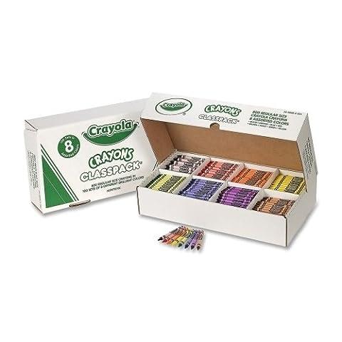 Binney and Smith Binney and Smith Crayon Classpack,Regular 3-.63 in.x