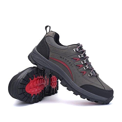 chaussures de sports de plein air pour hommes/Vêtements pour hommes résistant anti-dérapant bottes de randonnée/Chaussures de sport pour hommes B