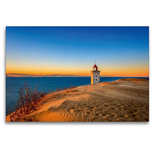 Premium Textil-Leinwand 120 x 80 cm Quer-Format Rubjerg Knude, Dänemark | Wandbild, HD-Bild auf Keilrahmen, Fertigbild auf hochwertigem Vlies, Leinwanddruck von Reemt Peters