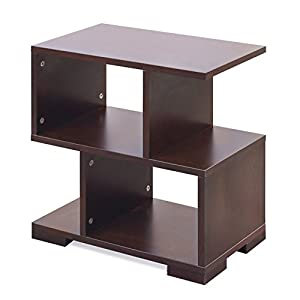 Forzza Daniel Side Table (Matt Finish, Wenge)
