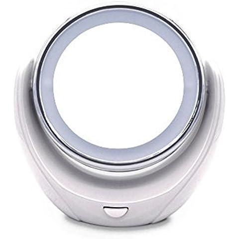 MINI SKY-Specchio cosmetico illuminato Specchio cosmetico compatto