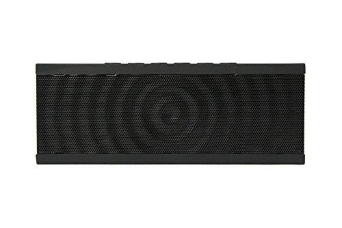 Negro /& Rojo soporta 3,5 mm audio Line-In Radio FM Despertador Altavoz Bluetooth DBPOWER BX-100 Inal/ámbrico Altavoz Bluetooth Port/átil con Pantalla LED Micr/ófono Incorporado tarjeta de TF // SD