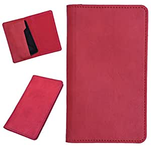 DCR Pu Leather case cover for Dell Flash (red)
