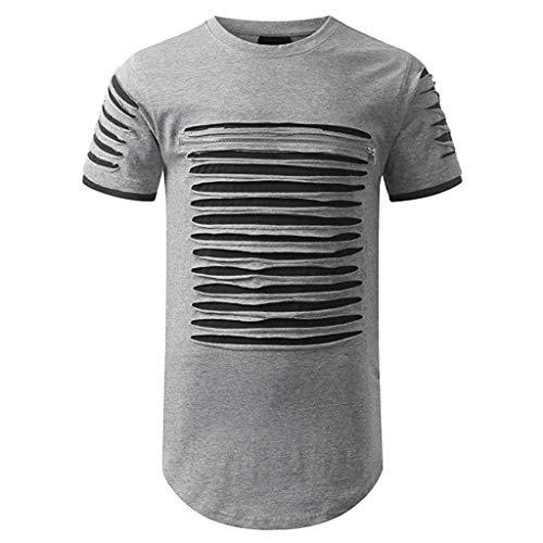 Sweatshirt Homme ELECTRI Pullover T Shirt Homme Marque Imprimé Été Automne Sport Exercice Slim Chic Fitness Jogging Blouse Pas Cher Loisirs Tee Shirt Tops