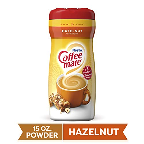 Nestle Coffee-Mate Hazelnut, 1er Pack  (1 x 425 g Packung)