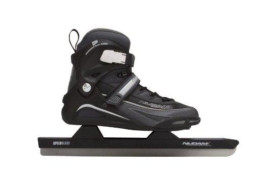 Schreuders Sport Nijdam Pro-Line Polyamid Softboot Speed Skate 56 Black/Anthracite/Silver