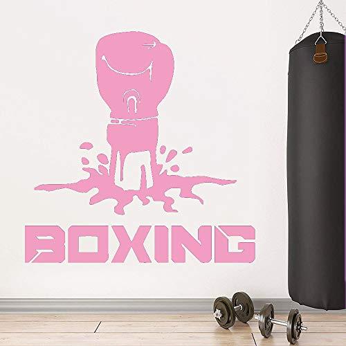 zqyjhkou Etiqueta engomada Decorativa del Boxeo de DIY Decoración Impermeable...