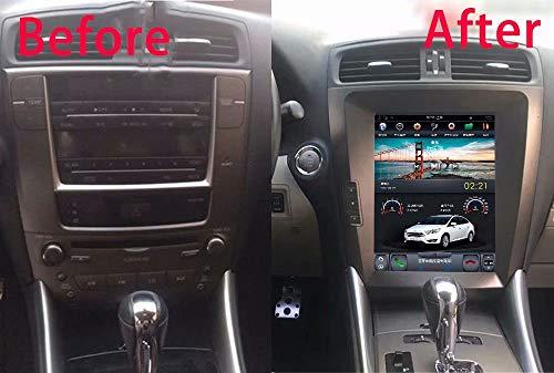 ROADYAKO 10.4Inch 2Din Car Player für Lexus IS250 IS300 2005 2006 2007 2008 2009 2010 2011 2012 7.1 GPS-Navigations-Stereo-WiFi 3G RDS-Radio Lexus Radio