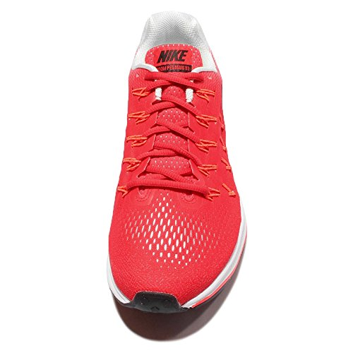 Nike Air Zoom Pegasus 33 Herren Laufschuhe Rot (Actn Rd / Blk-Pr Pltnm-Ttl Crmsn)