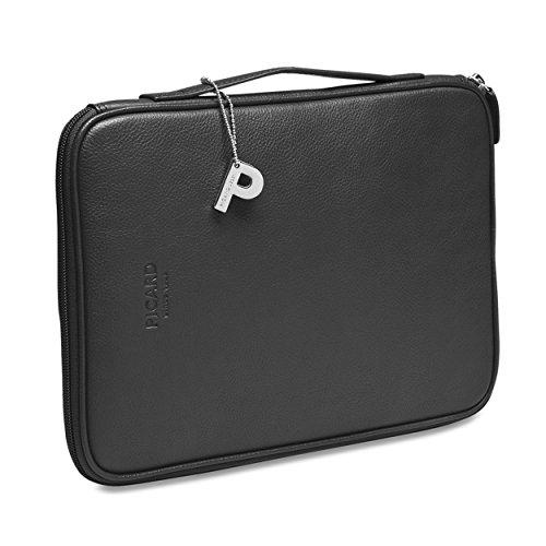 Picard Busy Laptoptasche Leder 29 cm schwarz