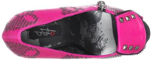 Iron Fist Ruff Rider Peep Toe Platform, Escarpins Bout ouvert femme Rose - Pink (pink)