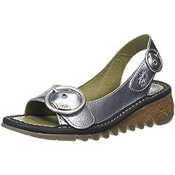 Fly London Tram, Zapatos con Tira de Tobillo para Mujer