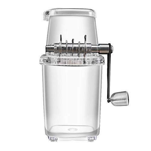 Blentude Ice Crusher Hand Crank Ice Shaver Manuelle EIS-Zerkleinerungsmaschine für Home Bar