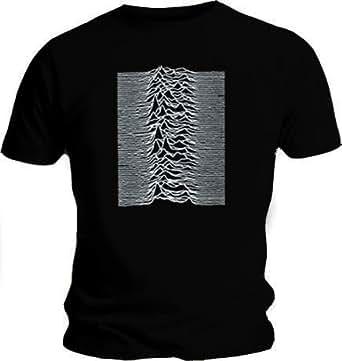 Official T Shirt JOY DIVISION Unknown Pleasures IND M