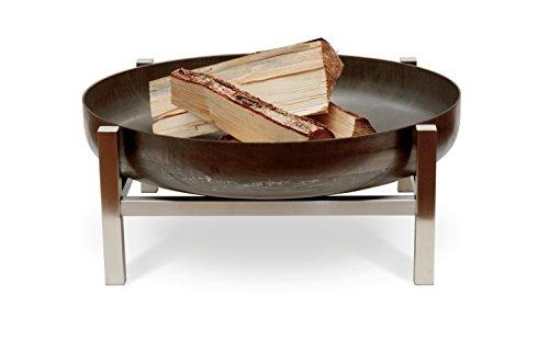 Design-Feuerschale'CUBE - S' - 63 x 63 x 25 cm